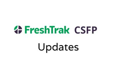 Update: CSFP Application Improvements