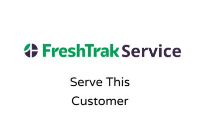 FreshHak: Serve this Customer